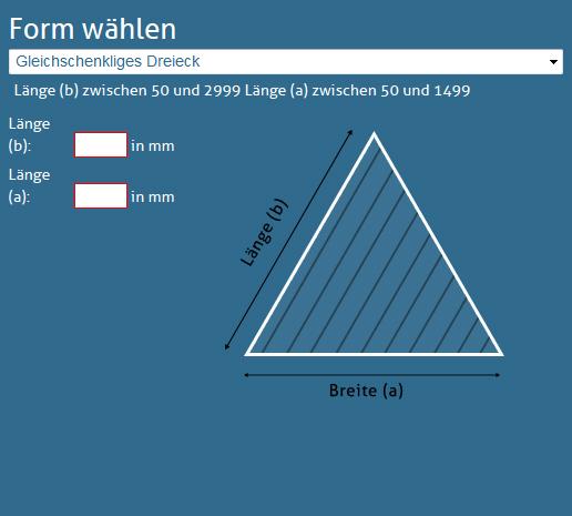 Gleichschenkliges-Dreieck