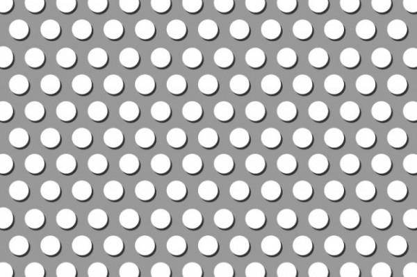 Stahl, blank Lochblech (d=5mm, versetzt) 2 mm