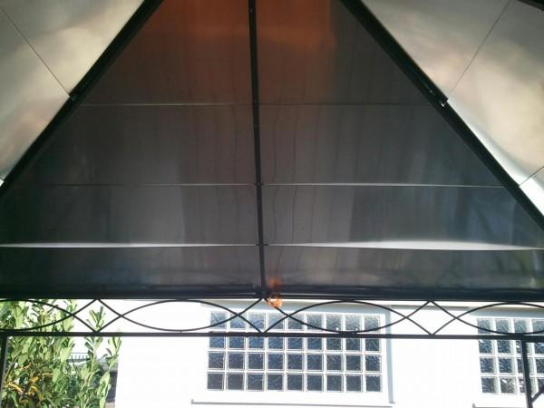 Aluminium-Blechdach-selbstgemacht