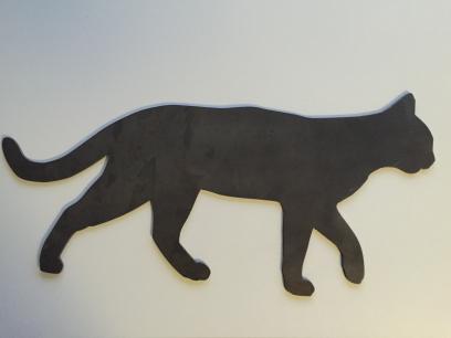 Haustier-Silhouette-Silhouette-einer-Katze